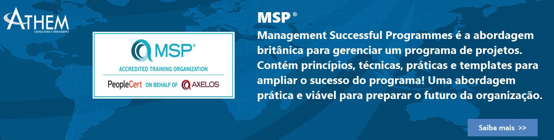 MSP Gerenciamento de Programa de Projetos