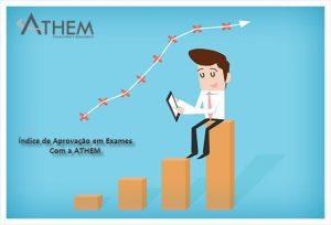 PRINCE2 índice de aprovação da ATHEM na certificação