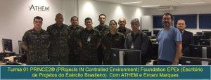 PRINCE2 Foundation Exército e ATHEM