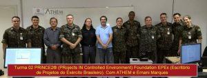 PRINCE2 ATHEM e Exército