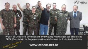 PRINCE2 Practitioner ATHEM e Exército