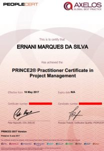 PRINCE2 Certificacao Qual o valor da certificação prince2