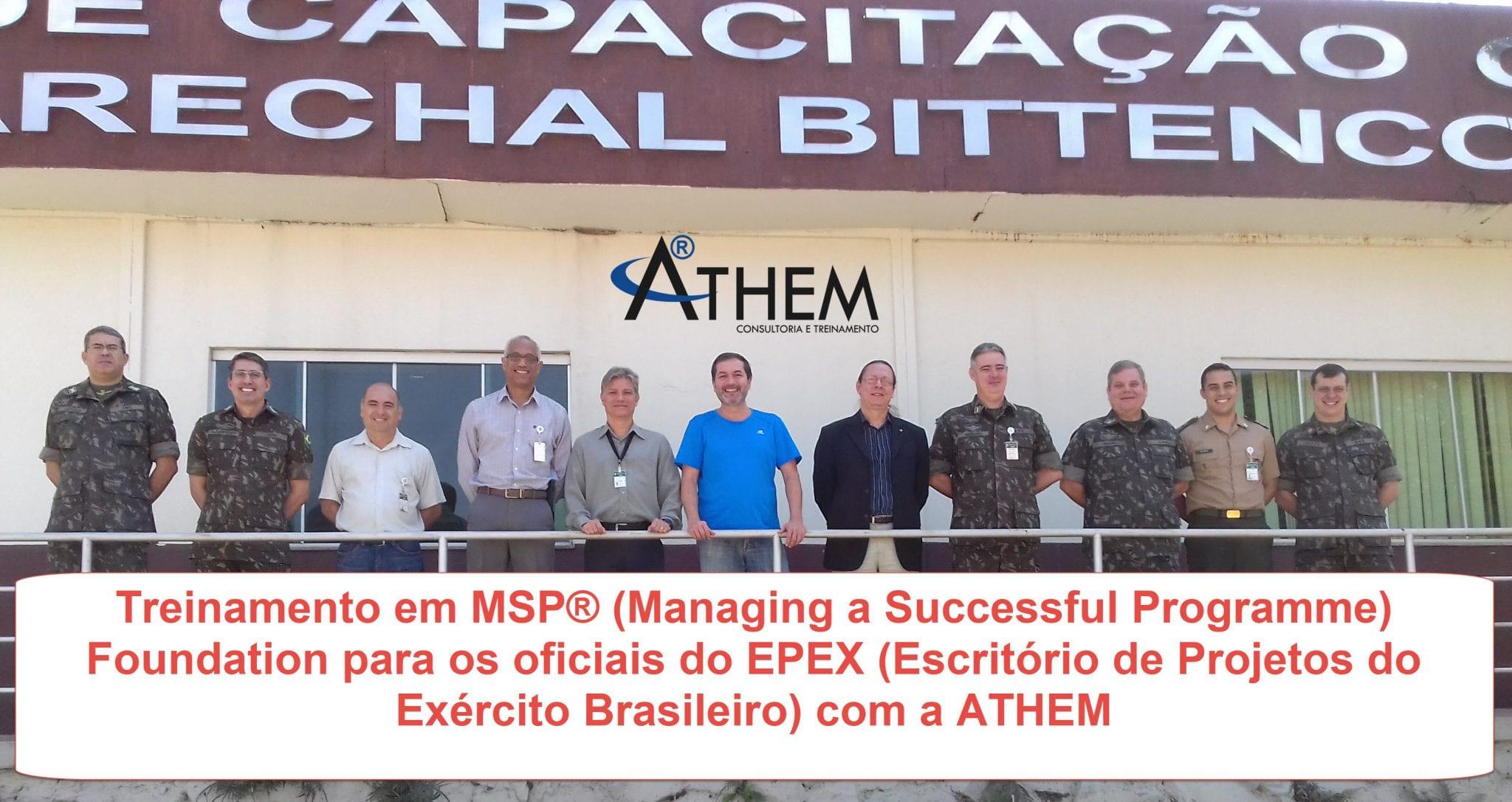 MSP Foundation - Exército Brasileiro investe em Capacitação de Gerenciamento de Programas