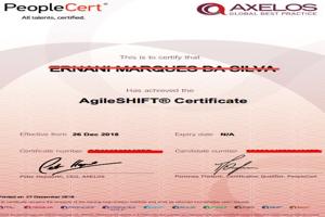 Certificação AgileSHIFT na ATHEM